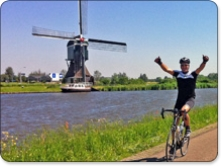 London to Amsterdam cycle ride in support of Bike 4 Cancer