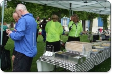 London to Paris Bike Ride Food - Bike 4 Cancer