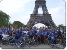 London to Paris Bike Ride - Bike 4 Cancer