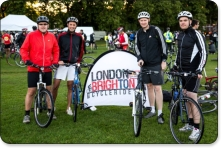 London to Brighton cycle ride