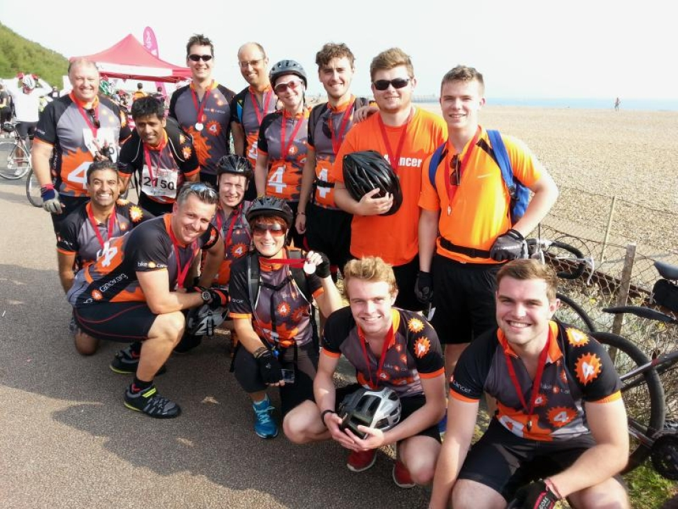 london to brighton bike ride 2019 bike 4 cancer