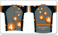 London to Brighton Bike Ride Team Jersey - Bike 4 Cancer