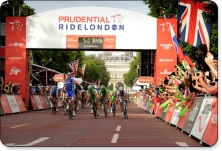 Image courtesy of Prudential RideLondon